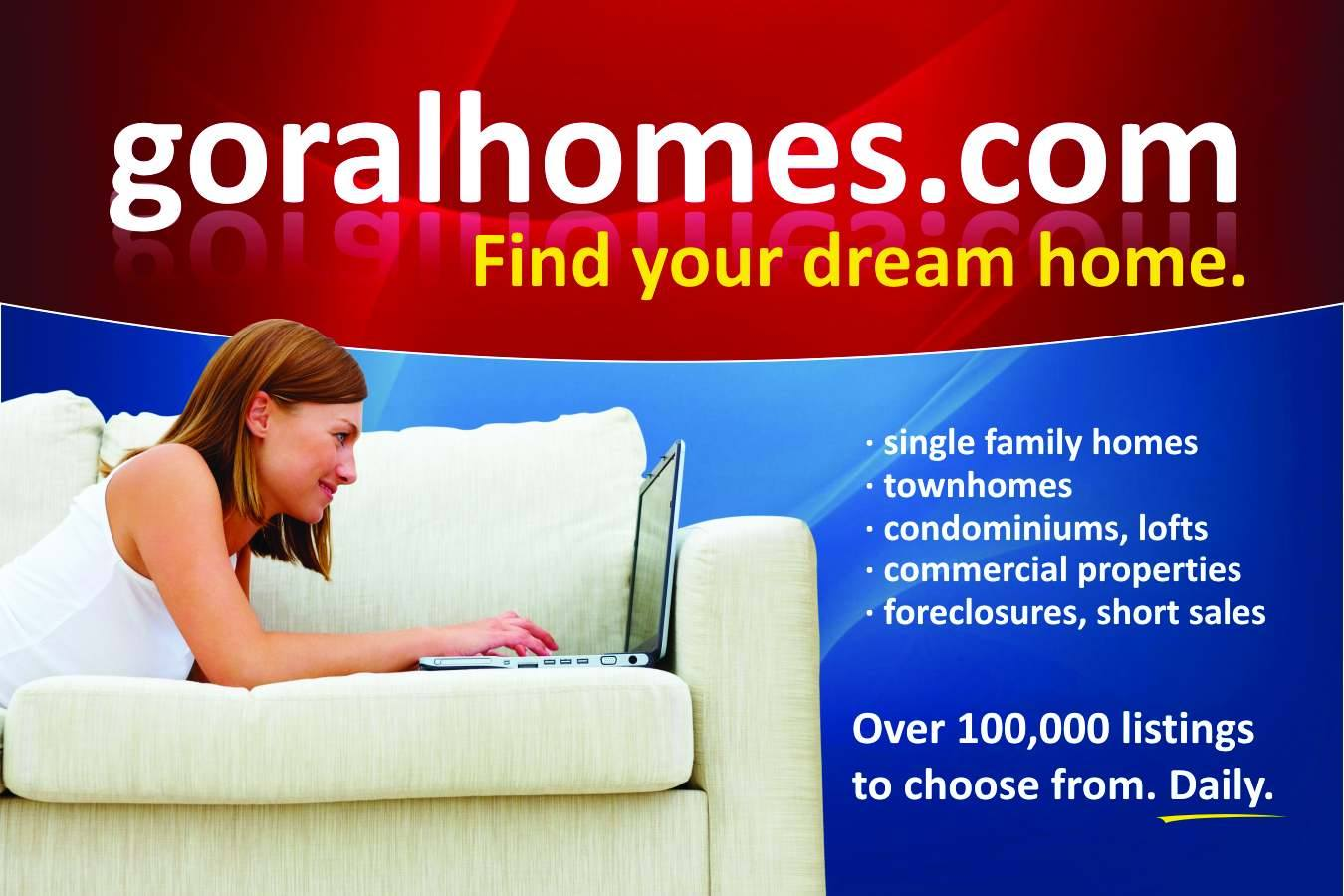 notyced find your dream home with goral real estate